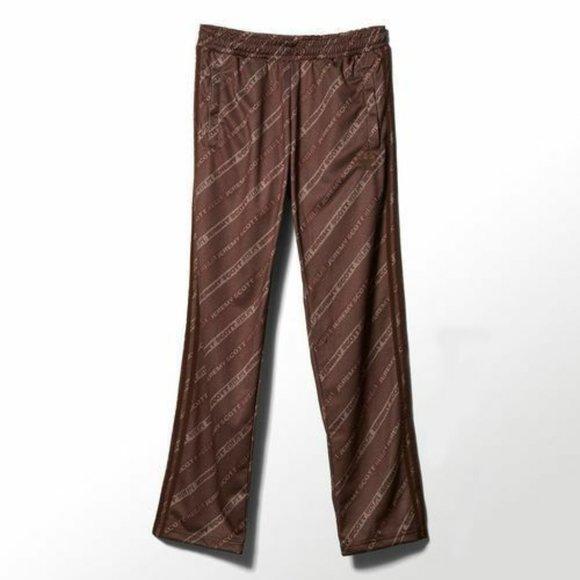 Adidas Jeremy Scott Men's Stripe Logo Track Pants